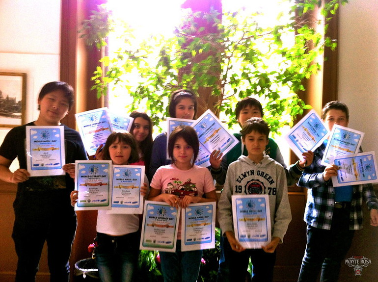 UNICEF world education games certificates‏