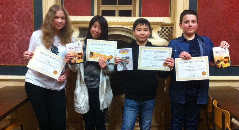 The Young Writers Competition Winners