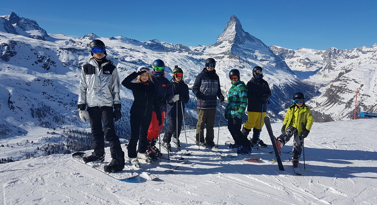 Winter school @ Monte Rosa: Have a direct access to the best Swiss ski resorts!