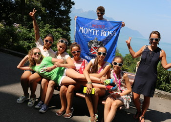 Monte Rosa Summer camp Montreux Switzerland