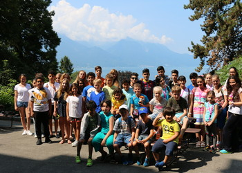 2017 Monte Rosa Summer camp Montreux Switzerland