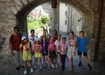 2019 Institut Monte Rosa Summer camp Montreux Switzerland